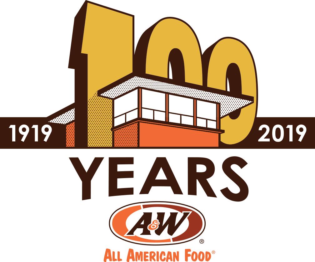 A&W 100th Anniversary Logo