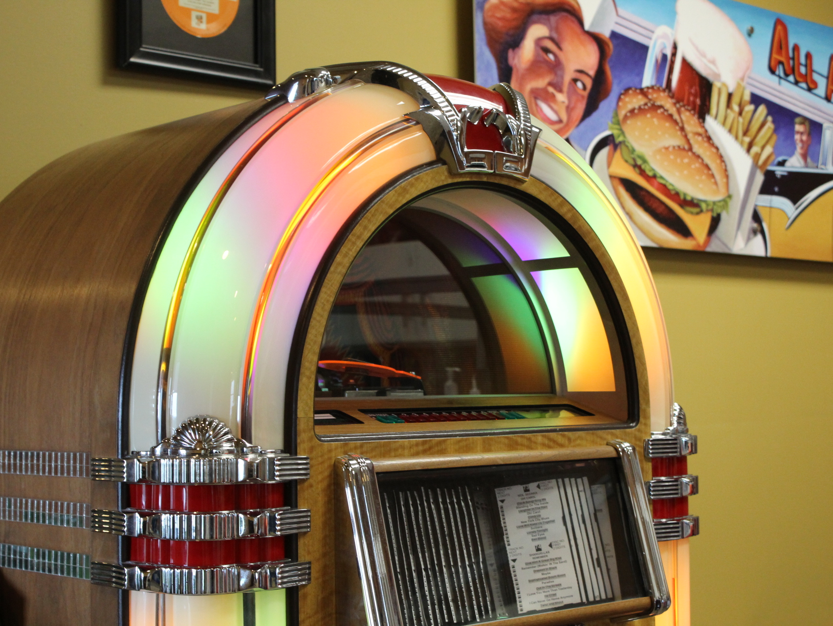 Jukebox in A&W Restaurants Headquarters