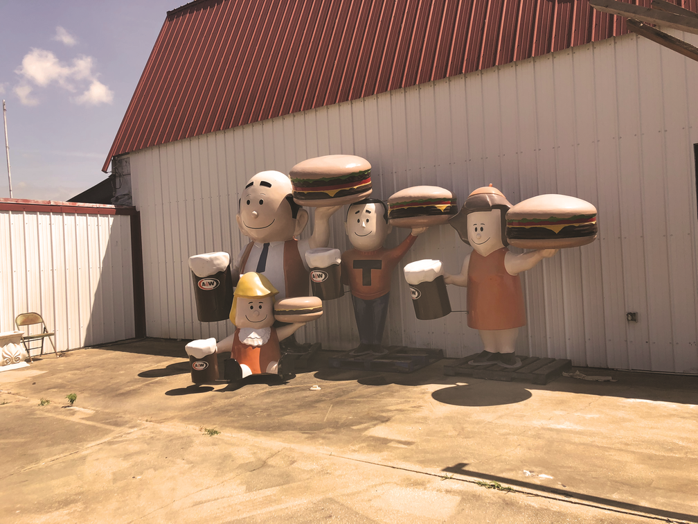 A&W Burger Family, restored