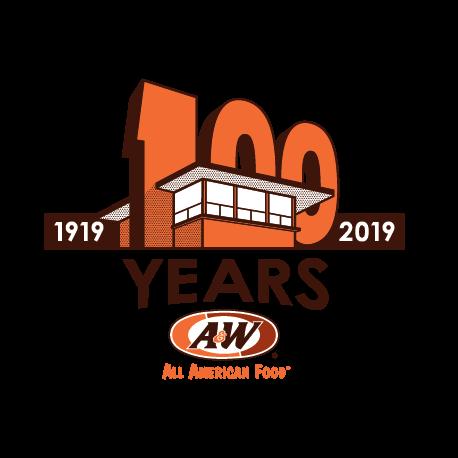 AW 100 Anniversary Logo
