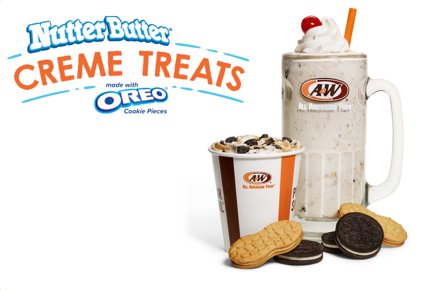 Nutter Butter® Creme Treats made with Oreo® Cookie Pieces
