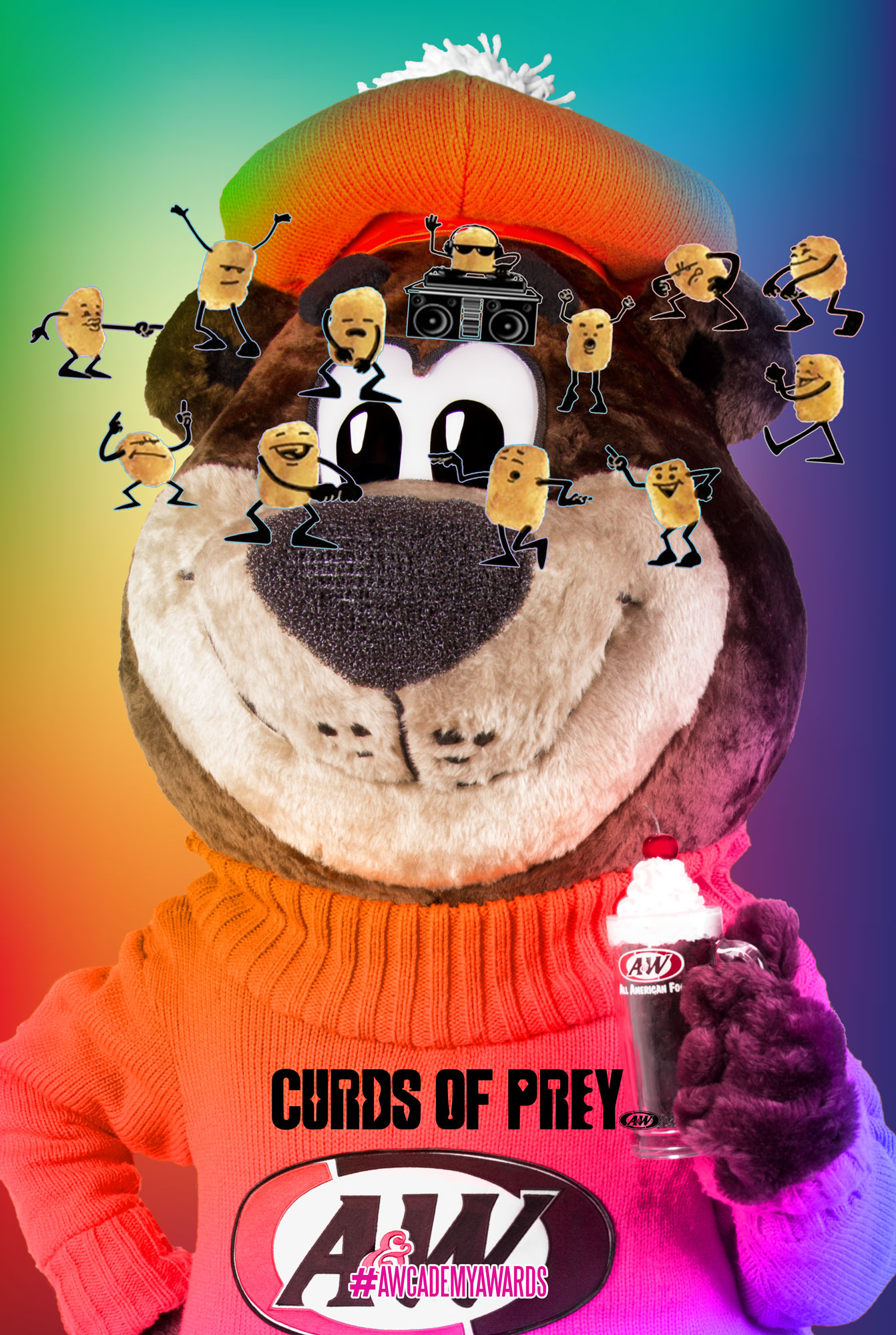 Curds of Prey Poster