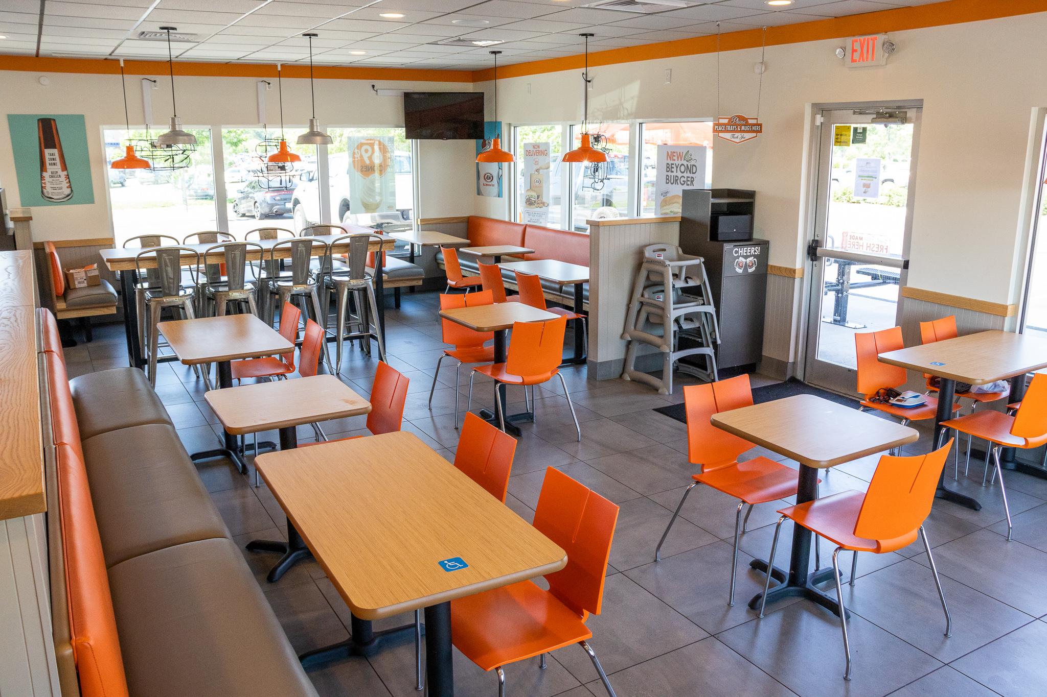 Current Restaurant Interior
