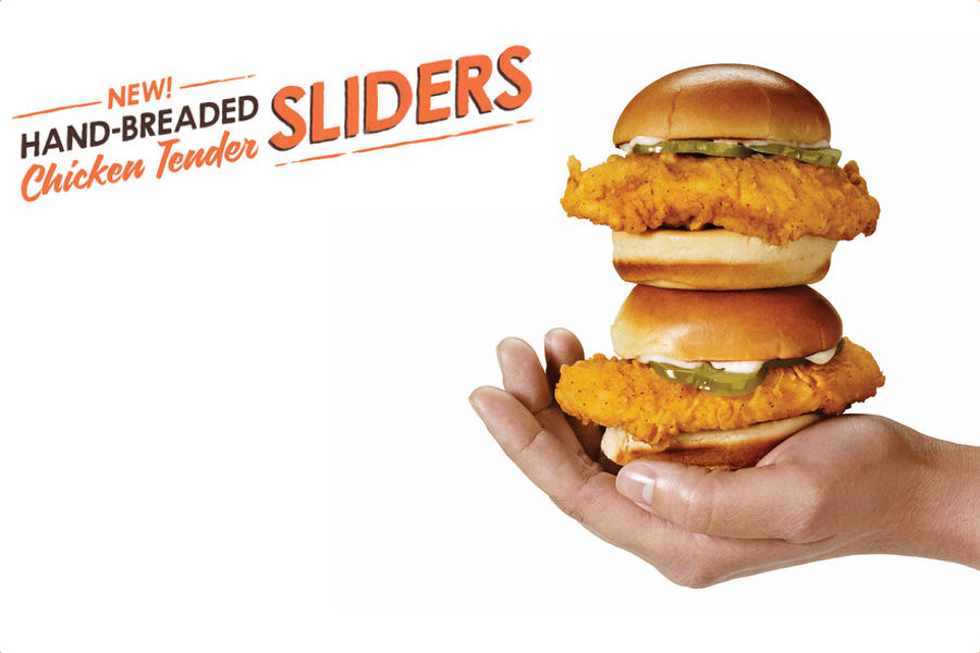 Hand-Breaded Chicken Tender Sliders