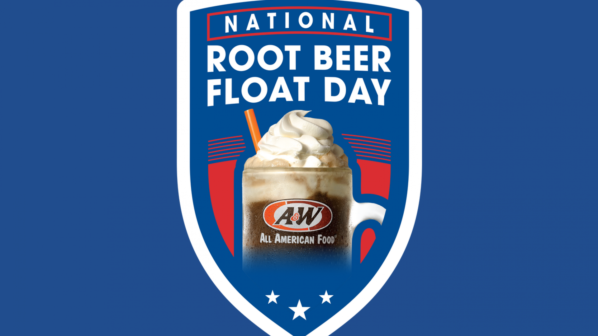 2018 National Root Beer Float Day Logo
