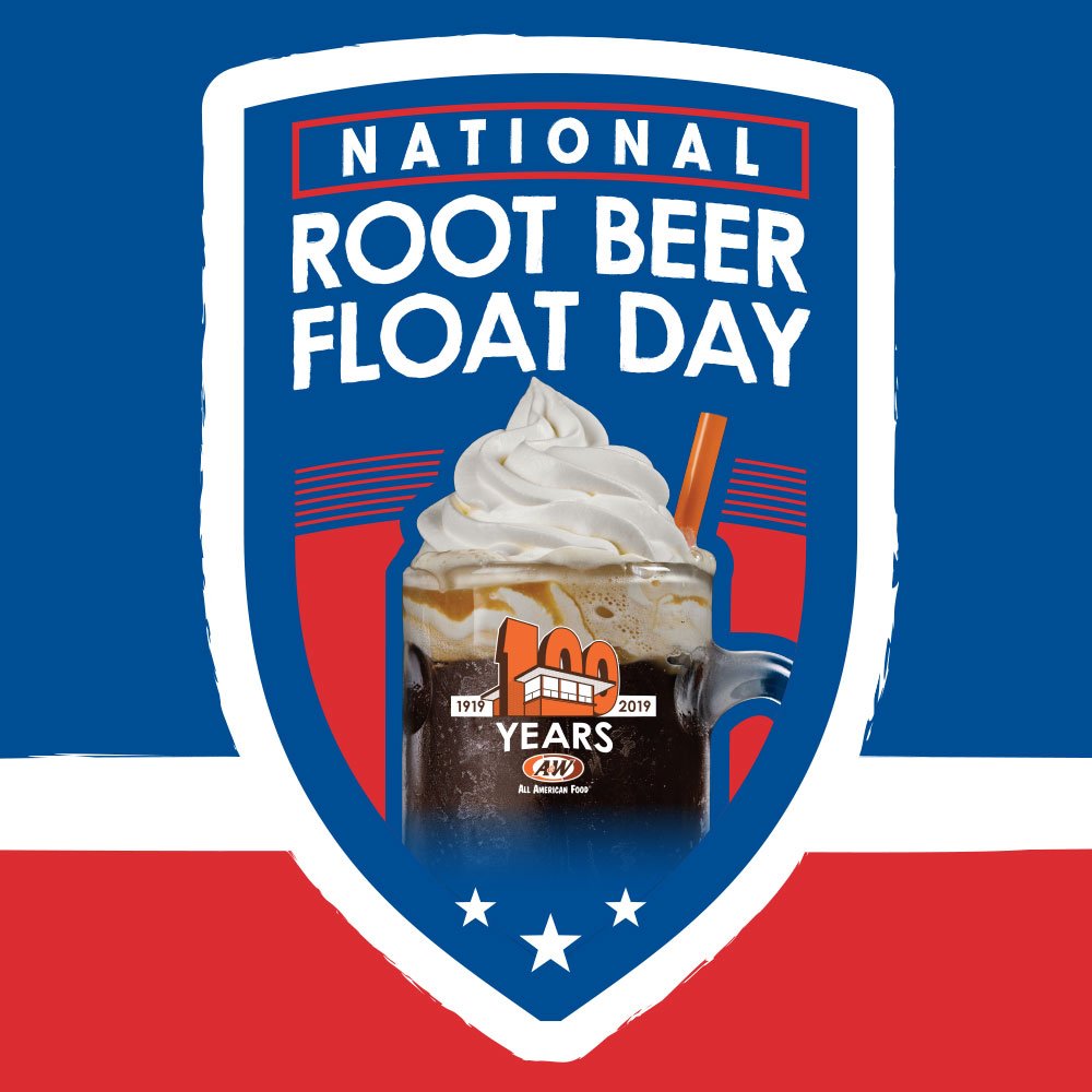 National Root Beer Float Day 2019 Logo