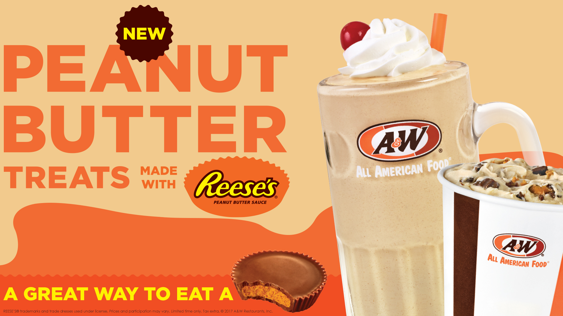 Reese's Shake and Polar Swirl