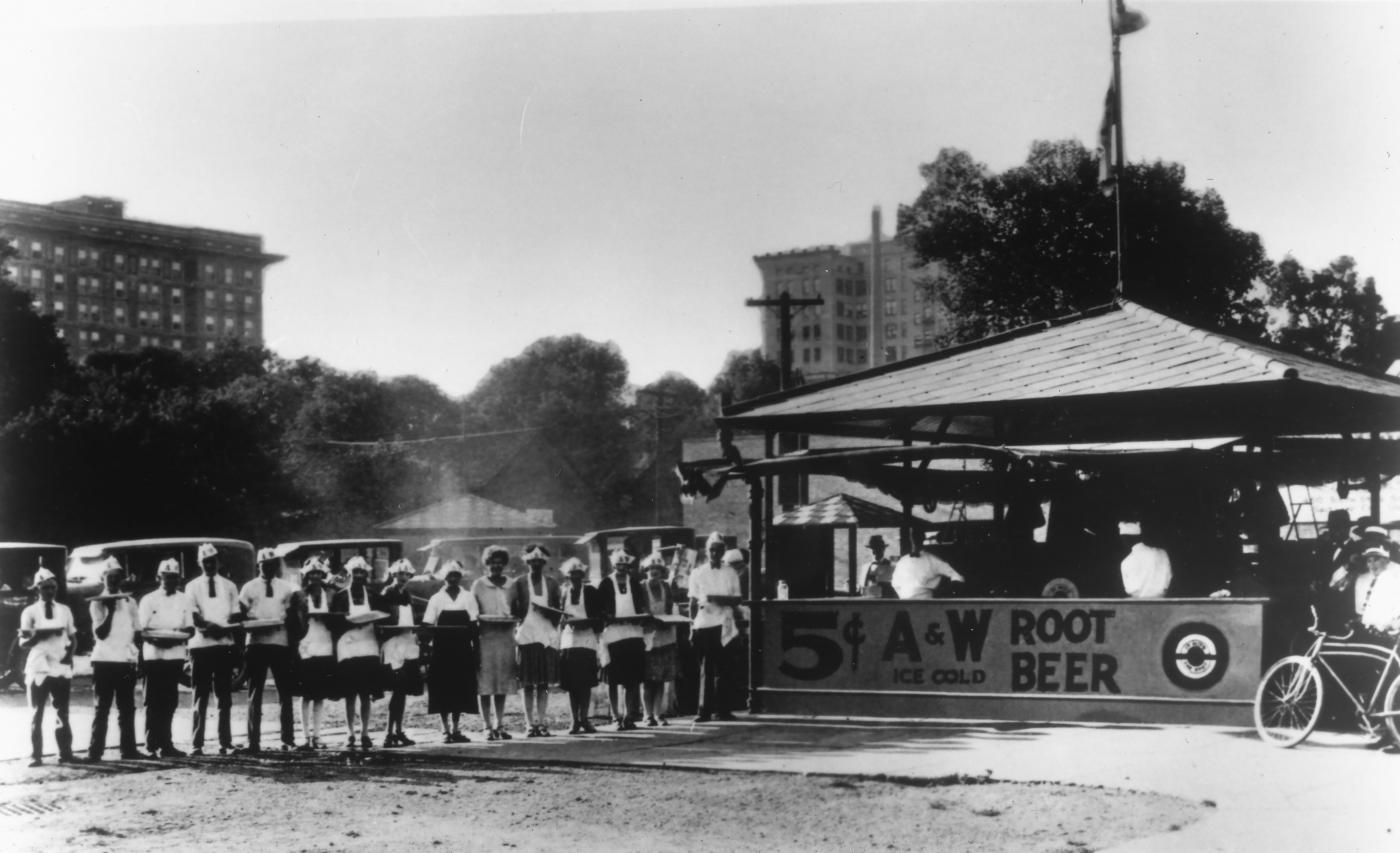 Root Beer Stand, State St. in Salt Lake City 1926