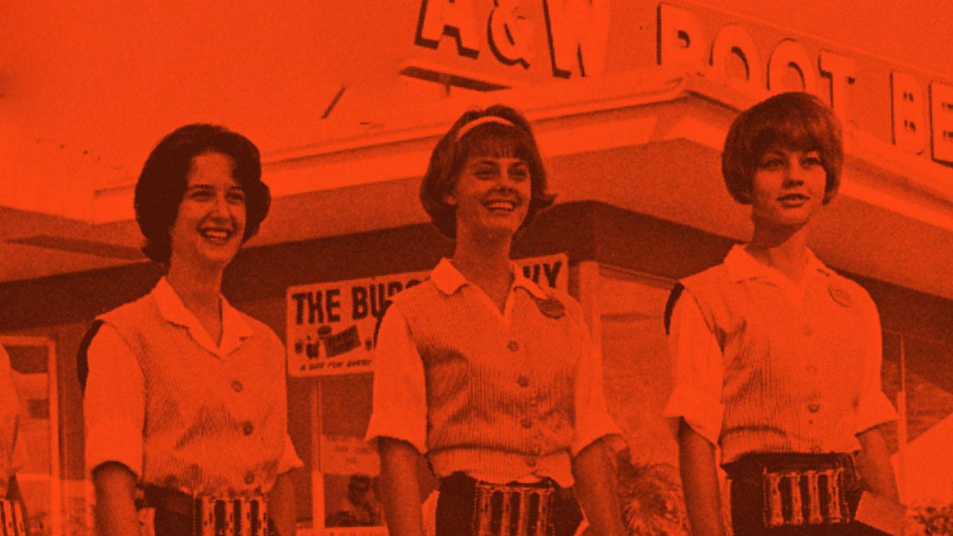 Vintage A&W Photograph